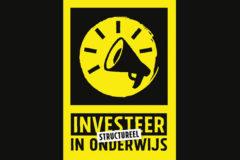 Investeer STRUCTUREEL in onderwijs – informatie staking 30/31 januari