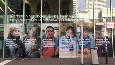 Campagne 'Werken in het onderwijs. De baan van het leven.'