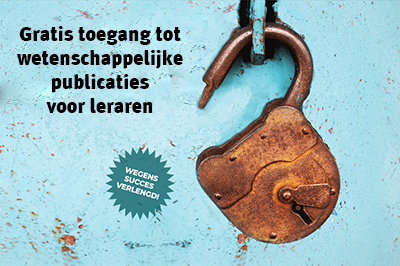 Voor leraren: Gratis toegang tot wetenschappelijke publicaties