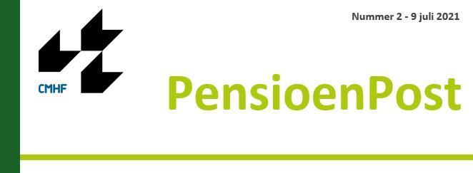 CMHF Pensioen Post juli 2021